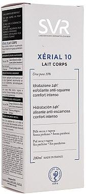 Körpermilch mit Harnstoff für sehr trockene und schuppige Haut - SVR Xerial 10 Lait Corps  — Bild N3