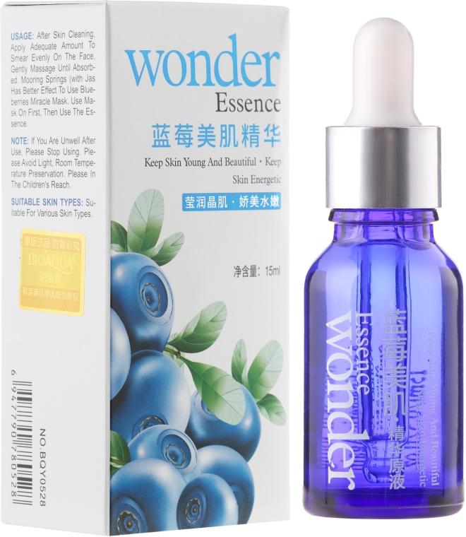 Energetisierende Essenz für das Gesicht mit Heidelbeere - Bioaqua Wonder Essence — Bild N1