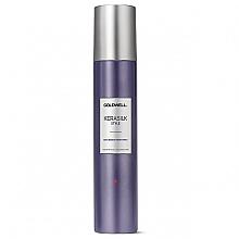 Düfte, Parfümerie und Kosmetik Strukturgebendes Glanzspray mit Hitzeschutz für flexiblen Halt - Goldwell Kerasilk Style Texturizing Finish Spray