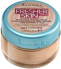 Düfte, Parfümerie und Kosmetik Atmungsaktive Foundation LSF 15 - Rimmel Fresher Skin SPF 15