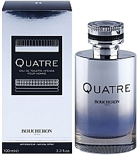 Düfte, Parfümerie und Kosmetik Boucheron Quatre Boucheron Intense Pour Homme - Eau de Toilette