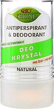 Deo Roll-on Kristall-Antitranspirant - Bione Cosmetics Deo Krystal Antiperspirant&Deodorant — Bild N1