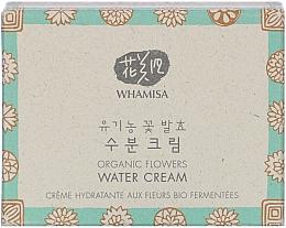Düfte, Parfümerie und Kosmetik Regenerierende vitalisierende und feuchtigkeitsspendende Gesichtscreme mit fermentierten Pflanzenextrakten - Whamisa Organic Flowers Water Cream