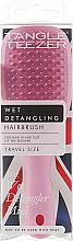 Düfte, Parfümerie und Kosmetik Haarbürste mini rosa - Tangle Teezer The Wet Detangler Mini Baby Pink Sparkle