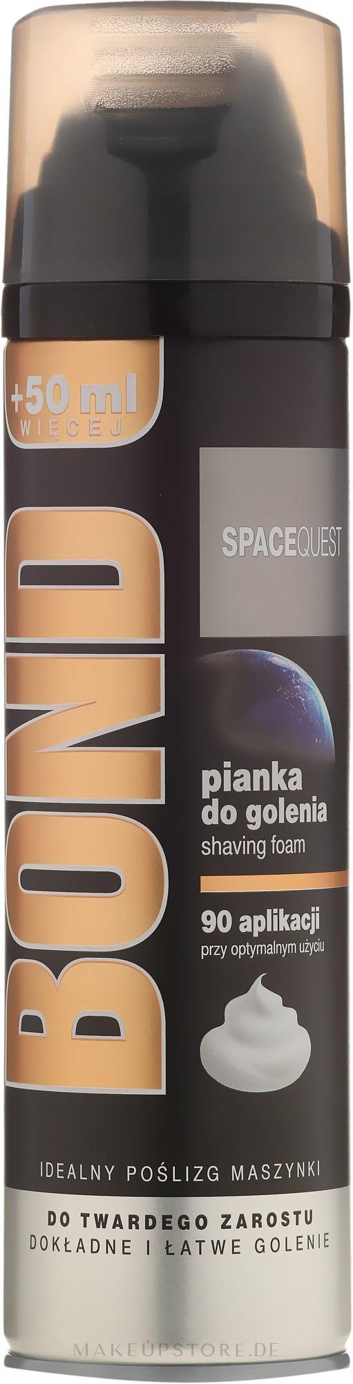 Rasierschaum - Bond Spacequest Shaving Foam — Bild 200 ml