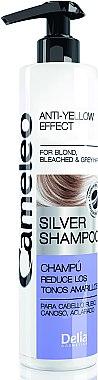 Anti Gelb Shampoo für blones, gebleichtes und graues Haar - Delia Cosmetics Cameleo Silver Shampoo — Bild N1