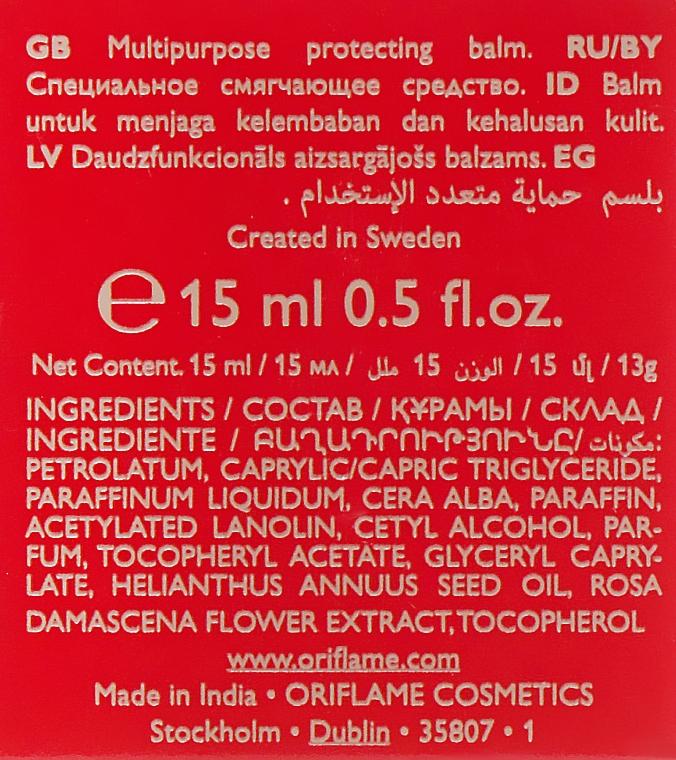 Aufweichender Lippenbalsam mit Rosenöl - Oriflame Tender Care Balm — Bild N3