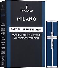 Düfte, Parfümerie und Kosmetik Nachfüllbarer Parfümzerstäuber blau - Travalo Milano Blue