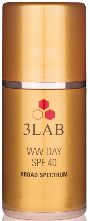 Feuchtigkeitsspendende Anti-Falten Tagescreme SPF 40 - 3Lab WW Day Cream SPF40 — Bild N1