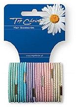 Düfte, Parfümerie und Kosmetik Haargummis Farb-Mix 24 St. 21275 - Top Choice