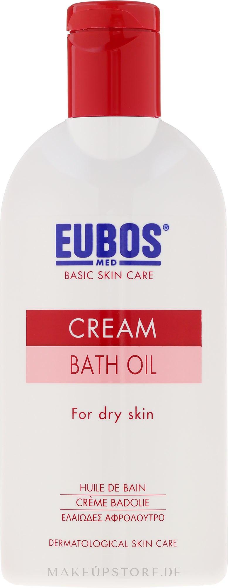 Badeöl für trockene Haut - Eubos Med Basic Skin Care Cream Bath Oil For Dry Skin — Bild 200 ml