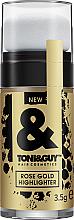Düfte, Parfümerie und Kosmetik Glitzer für das Haar - Toni&Guy Rose Gold Highlighter