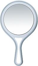 Düfte, Parfümerie und Kosmetik Doppelseitiger Kosmetikspiegel mit Griff d 12,5 cm - Titania