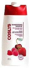 Düfte, Parfümerie und Kosmetik 2in1 Bio Haar- und Körpershampoo mit roten Beeren - Coslys Body Care Body And Hair Shampoo With Red Berries