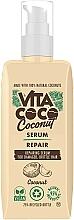 Düfte, Parfümerie und Kosmetik Serum für strapaziertes und sprödes Haar mit Kokosnuss - Vita Coco Repair Coconut Serum