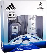 Düfte, Parfümerie und Kosmetik Adidas UEFA Champions League Arena Edition - Duftset (Eau de Toilette 50ml + Duschgel 250ml)