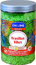 Düfte, Parfümerie und Kosmetik Badesalze - On Line Senses Bath Salt Brasilian Vibes