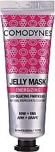 Düfte, Parfümerie und Kosmetik Energetisierende Peelingmaske für das Gesicht mit Kiwi und Traube - Comodynes Jelly Mask Energizing Exfoliating Action