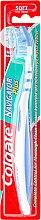 Düfte, Parfümerie und Kosmetik Zahnbürste weich Navigator Plus blau-weiß - Colgate Navigator Plus Soft