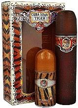 Düfte, Parfümerie und Kosmetik Cuba Jungle Tiger - Duftset (Eau de Parfum/100ml + Deodorant/50ml)