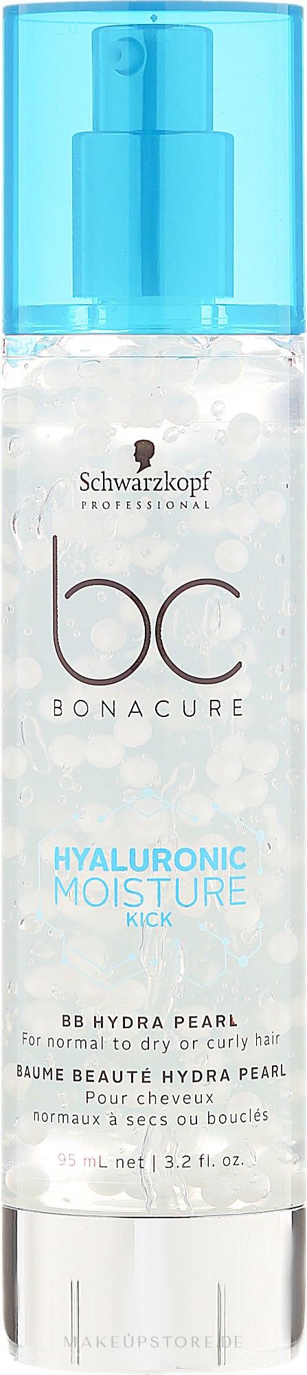 BB Creme für normales bis trockenes Haar - Schwarzkopf Professional BC Hyaluronic Moisture Kick BB Hydra Pearl — Bild 95 ml