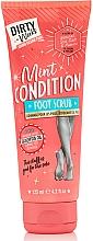 Düfte, Parfümerie und Kosmetik Fußpeeling mit Meersalz, Bimssteinpartikeln und Eukalyptusöl - Dirty Works Mint Condition Foot Scrub