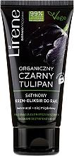 Düfte, Parfümerie und Kosmetik Samtiges Handelixier mit schwarzer Bio-Tulpe, Acai-Beere und Mandarinenöl - Lirene Organic Black Tulip Satin Cream-elixir For Hands