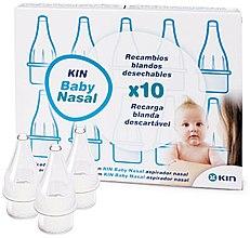Düfte, Parfümerie und Kosmetik Nachfüllpackungen für Nasensauger 10 St. - Kin Baby Nasal