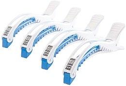 Düfte, Parfümerie und Kosmetik Haarclips weiß-blau - Dajuja Penguin Clip White-Blue