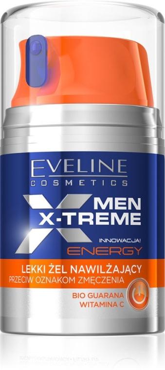 Leichtes Feuchtigkeitsgel gegen müde Haut - Eveline Cosmetics Men X-Treme Energy