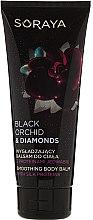 Düfte, Parfümerie und Kosmetik Glättender Körperbalsam mit Seidenproteinen - Soraya Black Orchid & Diamonds Smoothing Body Balm