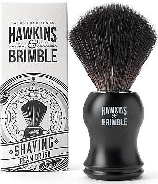 Rasierpinsel mit Synthetikhaar - Hawkins & Brimble Synthetic Shaving Brush — Bild N1