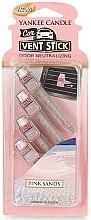 Düfte, Parfümerie und Kosmetik Auto-Lufterfrischer Pink Sands Duftstick - Yankee Candle Pink Sands Car Vent Sticks