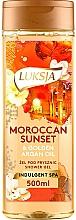 Düfte, Parfümerie und Kosmetik Entspannendes Duschgel mit Arganöl - Luksja Moroccan Sunset & Golden Argan Oil Shower Gel