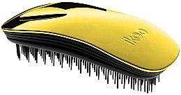 Düfte, Parfümerie und Kosmetik Haarbürste - Ikoo Home Black Soleil Metallic