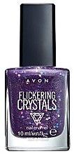 Düfte, Parfümerie und Kosmetik Nagellack - Avon Flickering Crystals