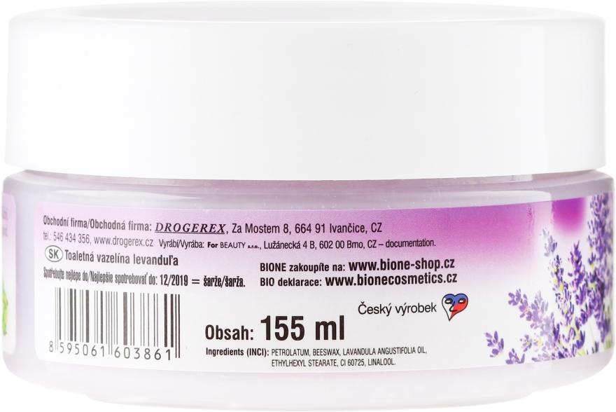 Kosmetische Vaseline mit Lavendelöl - Bione Cosmetics Lavender Cosmetic Vaseline — Bild N2