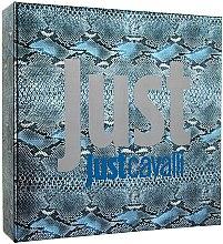 Düfte, Parfümerie und Kosmetik Roberto Cavalli Just Cavalli Him - Duftset (Eau de Toilette/90ml + Duschgel/75ml)