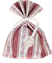 Düfte, Parfümerie und Kosmetik Duftsäckchen mit rosa Blüten-Dessin und Veilchenduft - Essencias De Portugal Tradition Charm Air Freshener