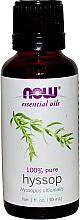Düfte, Parfümerie und Kosmetik Ätherisches Öl Ysop - Now Foods Essential Oils 100% Pure Hyssop