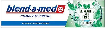Zahnpasta Complete Fresh Extra White and Fresh - Blend-a-med Complete Fresh Extra White & Fresh — Bild N1
