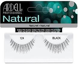 Düfte, Parfümerie und Kosmetik Künstliche Wimpern 124 schwarz - Ardell Natural Lashes 124 Black