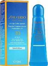 Düfte, Parfümerie und Kosmetik Wasserdichter Lipgloss mit Sonnenschutz SPF 30 - Shiseido UV Lip Color Splash