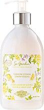 """Düfte, Parfümerie und Kosmetik Flüssigseife """"Zitrone und Verbene"""" - Institut Karite So Garden Collection Privee Lemon Verbena Marseille Liquid Soap"""