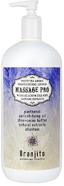 Massage Milch Weißer Tee - Oranjito Massage Pro White Tea Massage Body Milk — Bild N1