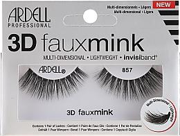 Düfte, Parfümerie und Kosmetik 3D Künstliche Wimpern 857 - Ardell 3D Faux Mink 857