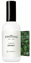 Düfte, Parfümerie und Kosmetik Lindenhydrolat - Creamy Skin Care Linden Hydrolat
