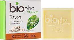 Düfte, Parfümerie und Kosmetik Naturseife mit Aloe Vera und Arganöl - Biopha Organic Soap Organic Argan Oil