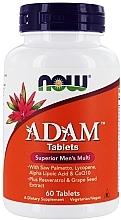 Düfte, Parfümerie und Kosmetik Nahrungsergänzungsmittel Adam Multivitamine für Männer - Now Foods Adam Superior Men's Multi