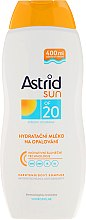 Düfte, Parfümerie und Kosmetik Feuchtigkeitsspendende Sonnenschutzmilch SPF 20 - Astrid Sun Moisturizing Suncare Milk